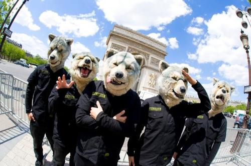 MAN+WITH+A+MISSION+MWAM+in+Paris+2012